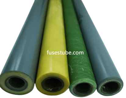 Epoxy fiberglass wind tube &canvas tube different