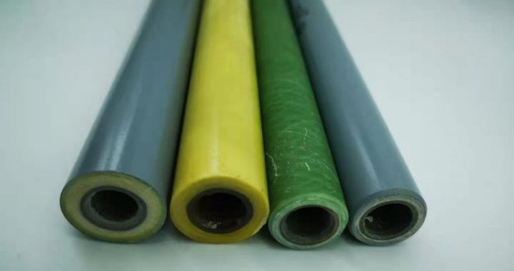 What is the difference between epoxy glass fiber wound pipe and epoxy glass canvas tube?